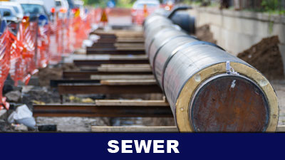 Sewer line repair, replacement, and installation